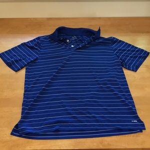 Men's large button-down golf shirt